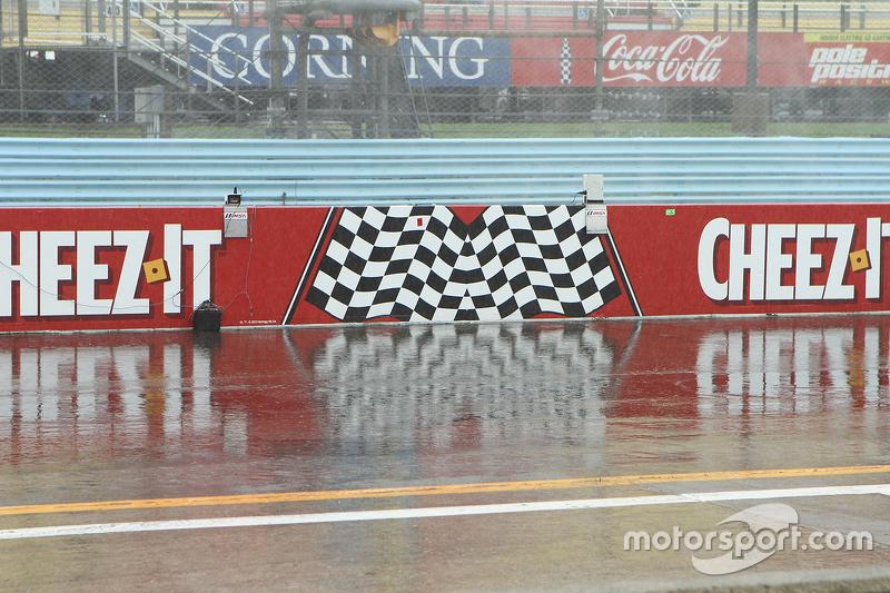 Hujan di Watkins Glen