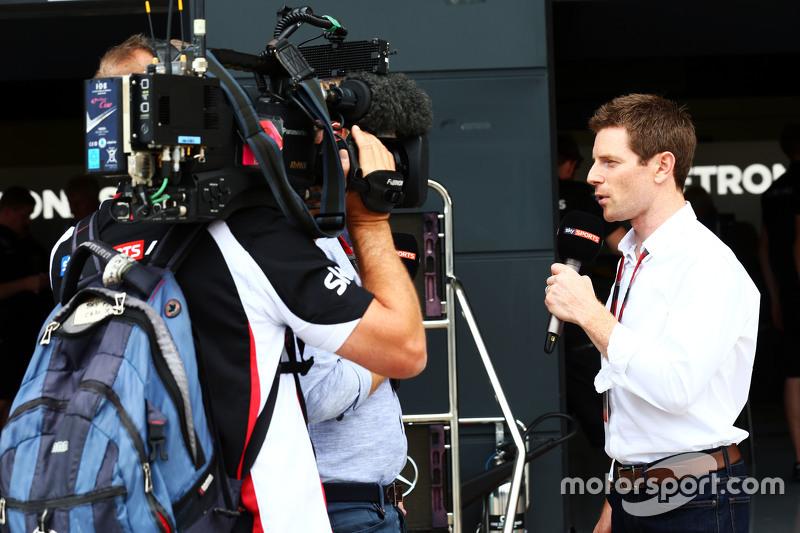 Anthony Davidson, Sky Sports F1 Presenter