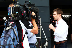 Anthony Davidson, apresentador da Sky Sports F1