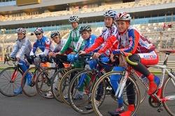 Велосипедисты сборной России на Сочи автодроме