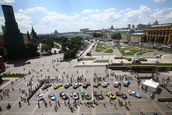 Moskau, Atmosphäre