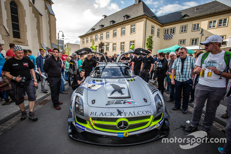 #2 Black Falcon, Mercedes-Benz SLS AMG GT3