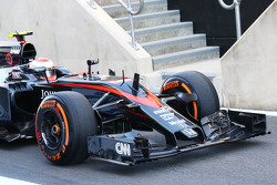 Переднее антикрыло Дженсона Баттона, McLaren MP4-30