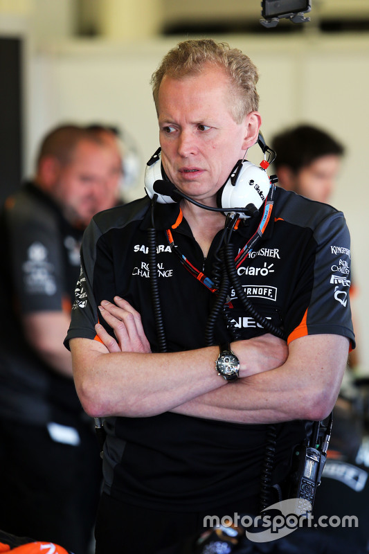 Andrew Green, Technischer Direktor Sahara Force India F1 Team