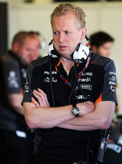 Andrew Green, Sahara Force India F1 Team технічний директор