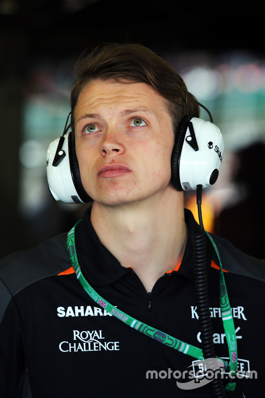Nick Yelloly, Sahara Force India F1 Test Driver