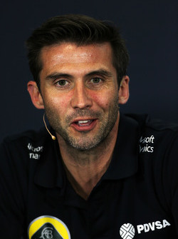 Мэттью Картер, руководитель команды Lotus F1 Team на пресс-конференции FIA