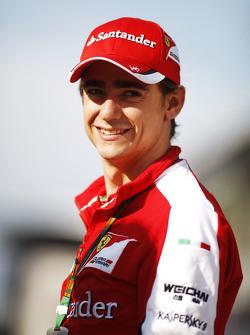 Esteban Gutierrez, pilote d'essais et de réserve Ferrari