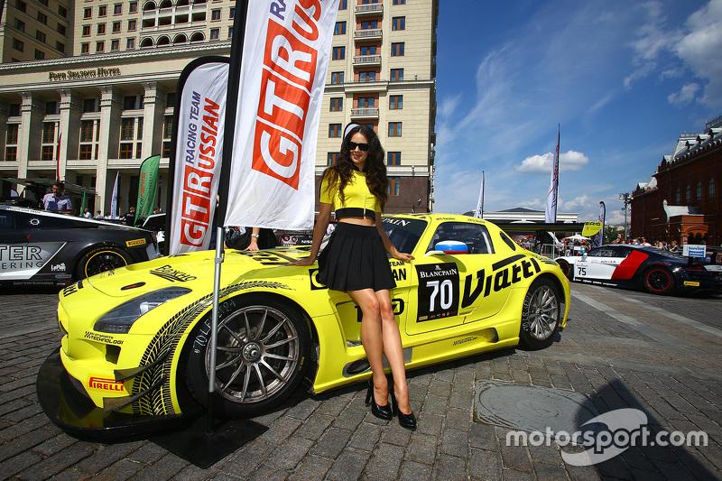#70 GT Russian Team, Mercedes SLS AMG GT3: Alexei Karachev, Christophe Bouchut