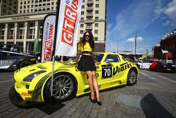 #70 GT Russian Team Mercedes SLS AMG GT3: Алексей Карачёв, Кристоф Бушю