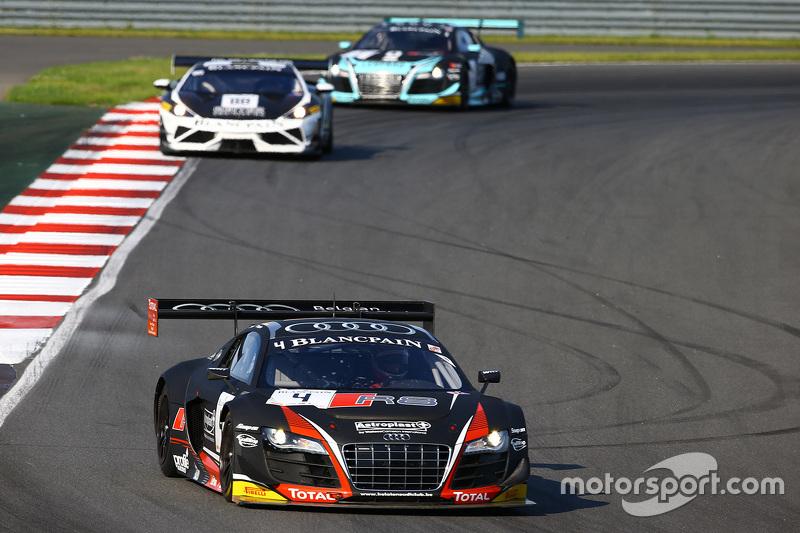#4 Belgian Audi Club Team WRT, Audi R8 LMS Ultra: Franck Stippler, James Nash