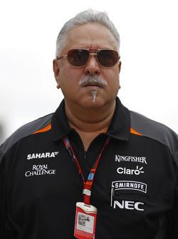 Виджей Малья, владелец команды Sahara Force India F1