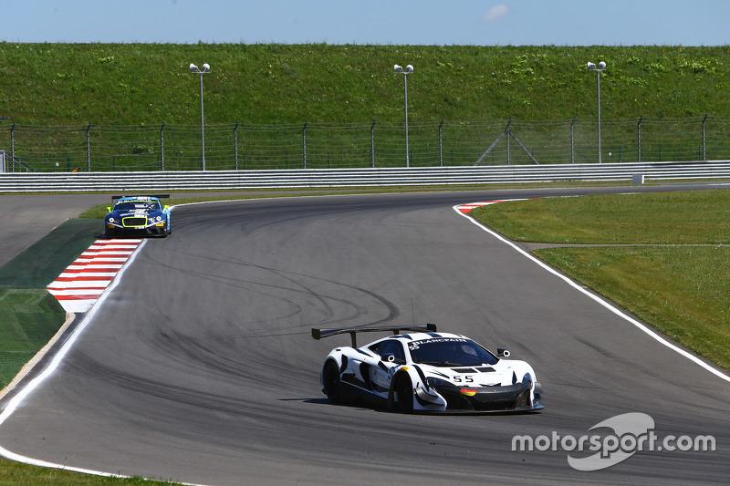 #55 Attempto Racing McLaren 650 S GT3: Роб Белл, Кевін Естре