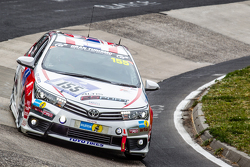 #155 Toyota Team Thailand Toyota Corolla Altis: Jum Grant, Chen Jiang-Honga, Ton Manat, Arthit Ruangsomboom