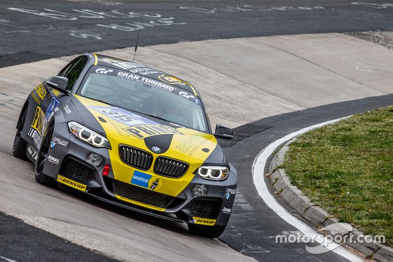 #315 Race House Motosport, BMW M235i Racing: Dag von Garrel, Olivier Fourcade, Meyrick Cox