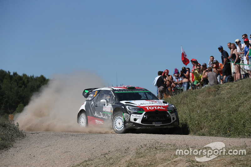 Kris Meeke und Paul Nagle, Citroën DS3 WRC, Citroën World Rally Team