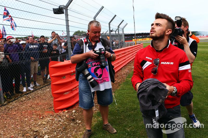Will Stevens, Manor F1 Team bersama fans