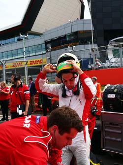 Roberto Merhi, Manor F1 Team op de grid
