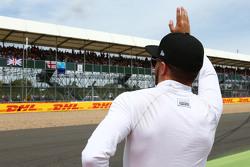 Will Stevens, Manor F1 Team op de grid