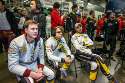 Marc VDS Racing: Nicky Catsburg, Augusto Farfus and Jörg Müller