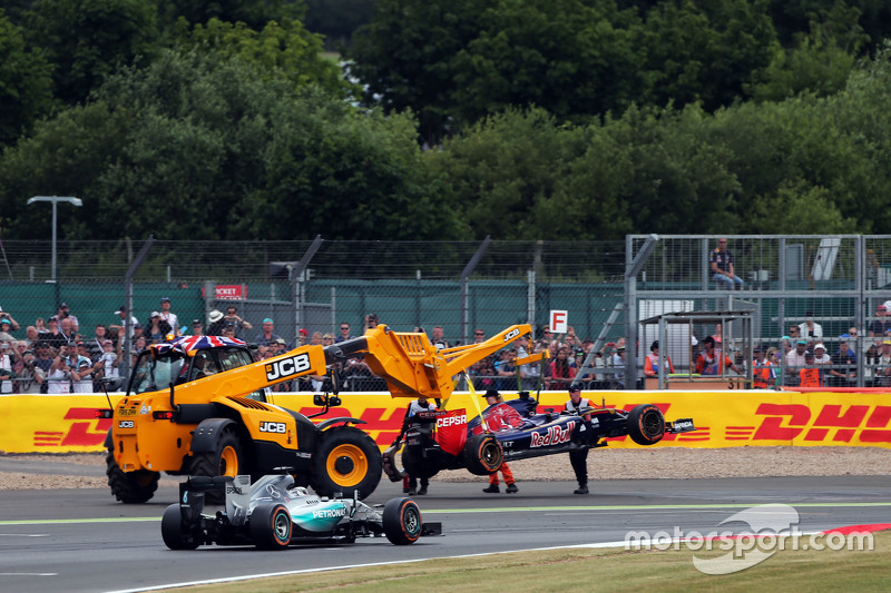 Гран При Великобритании, 5 июля. Сход Макса Ферстаппена