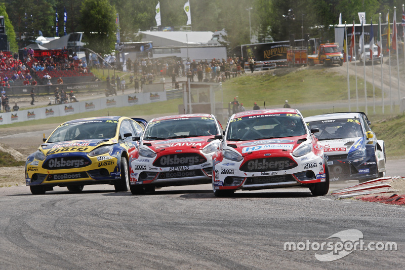 Andreas Bakkerud und Reinis Nitiss, Ford Olsbergs MSE Fiesta ST Supercar