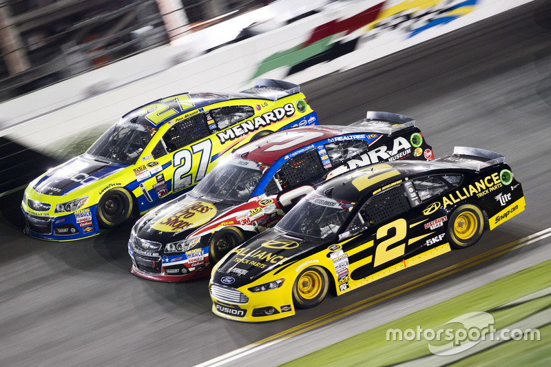 Paul Menard, Richard Childress Racing Chevrolet, Austin Dillon, Richard Childress Racing Chevrolet a