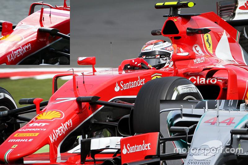 Analisis teknis: Ferrari camera mounts