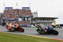 Дані Педроса, Repsol Honda Team та Валентіно Россі, Yamaha Factory Racing