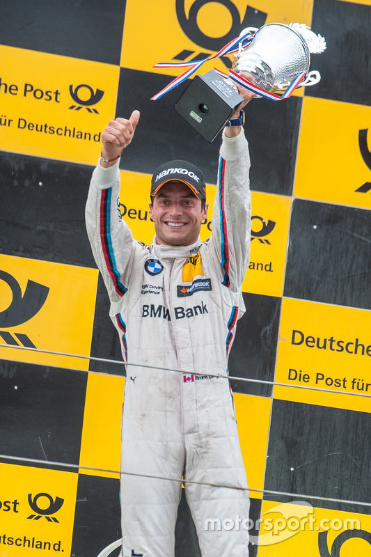 Third place Bruno Spengler, BMW Team MTEK BMW M4 DTM