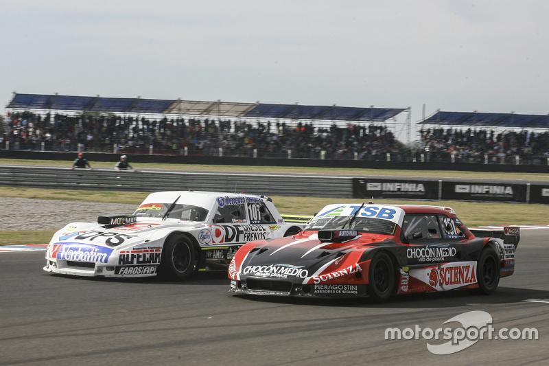 Leonel Sotro, Alifraco Sport Ford and Jose Manuel Urcera, JP Racing Torino