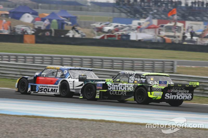 Luis Jose di Palma, Inde car Racing Torino, dan Mauro Giallombardo, Maquin Parts Racing Ford