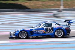 #33 SPS Mercedes SLS AMG GT3: Valentin Pierburg, Lance David Arnold, Tim Muller, Patrick Assenheimer