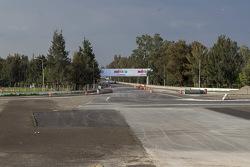 Autódromo Hermanos Rodríguez, entrada zona de las eses