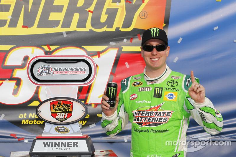 Juara balapan Kyle Busch, Joe Gibbs Racing Toyota
