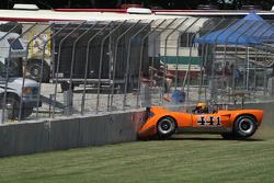 Авария Джима Ферро на Lola T165 1970 года
