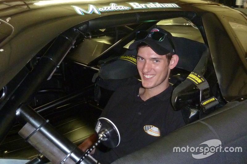 Matthew Brabham, David Gilliland Racing'i test ediyor