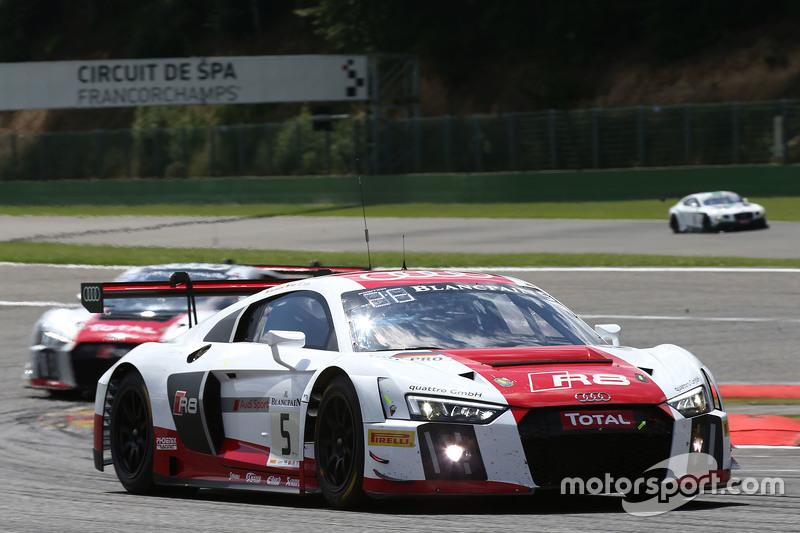 #5 Phoenix Racing Audi R8 LMS: Christian Mamerow, Christopher Mies, Nicki Thiim