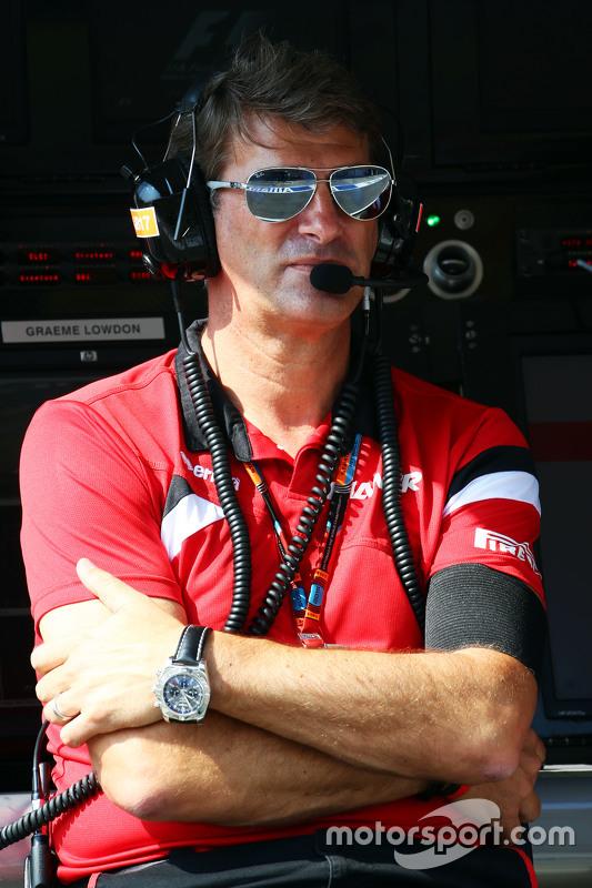 Graeme Lowdon, Manor F1 Team Chief Executive Officer