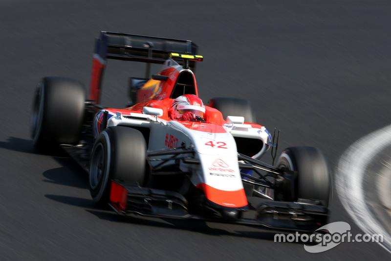 Фабио Ляймер, резервный пилот Manor F1 Team, Гран При Венгрии