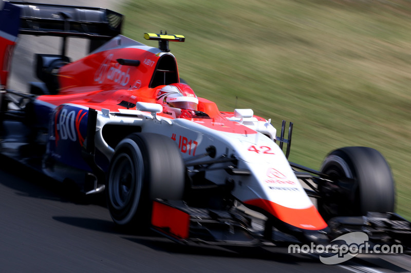 Fabio Leimer, Manor F1 Team