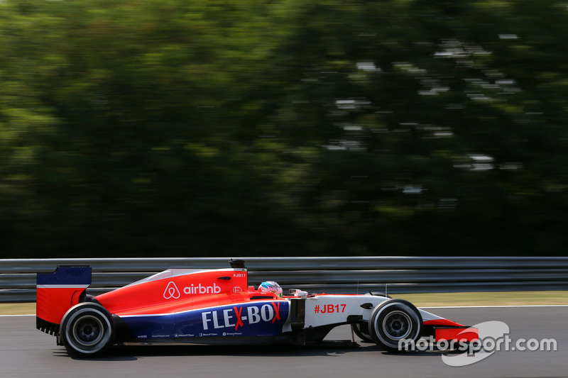 Will Stevens, Manor F1 Team