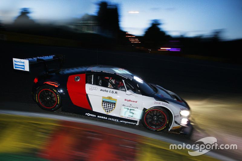 #75 ISR Audi R8 LMS ultra: Marco Bonanomi, Filip Salaquarda, Frederic Vervisch