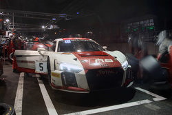 #5 Phoenix Racing Audi R8 LMS : Christian Mamerow, Christopher Mies, Nicki Thiim