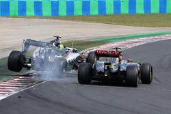 Серхио Перес, Sahara Force India и Пастор Мальдонадо, Lotus F1 Team