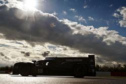 Porsche Team 919 Hybrid на тестах