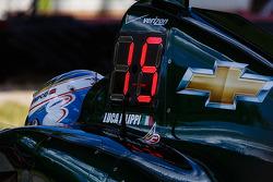Luca Filippi, CFH Racing Chevrolet stopped on track