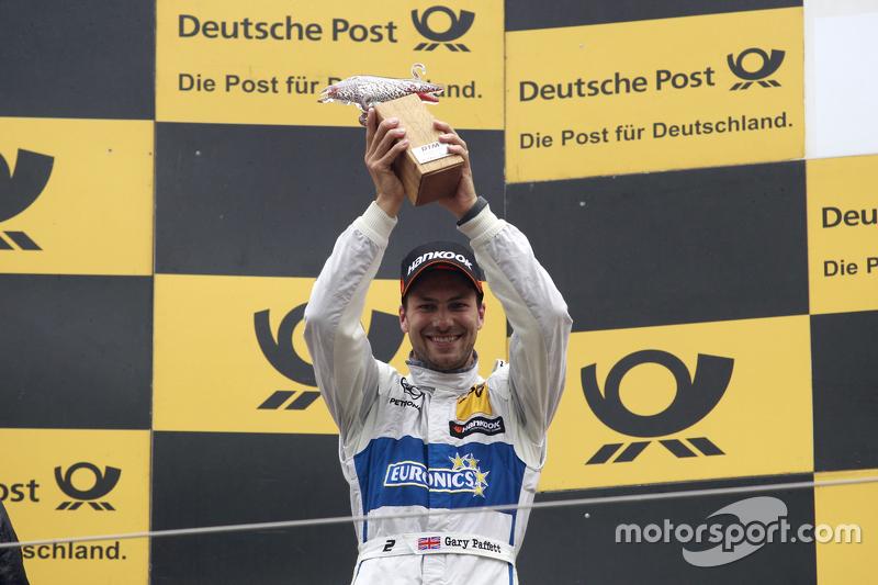 Second place Gary Paffett, ART Grand Prix Mercedes-AMG C63 DTM