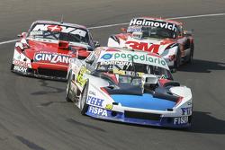 Emiliano Spataro, UR Racing Dodge dan Matias Rossi, Donto Racing Chevrolet dan Mariano Werner, Werner Competicion Ford