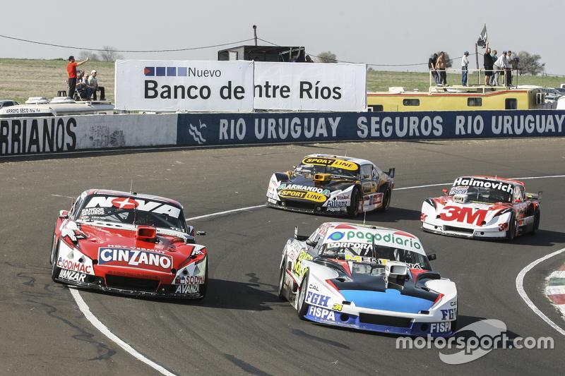 Emiliano Spataro, UR Racing Dodge dan Matias Rossi, Donto Racing Chevrolet dan Leonel Pernia, Las To